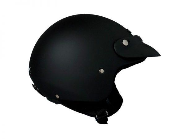 Vista lateral derecho casco color negro de la marca Nexx X60