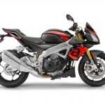 Foto producto Moto aprilia tunono v4 vista frontal derecho color negra