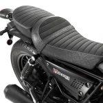 Plano detalle del asiento de la moto Guzzi v9 850